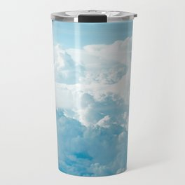 Cloudy Cotton Candy Travel Mug