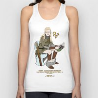 legolas Tank Tops featuring That Awkward Moment by Pat Pot Designs