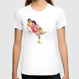 eroti print T-shirt