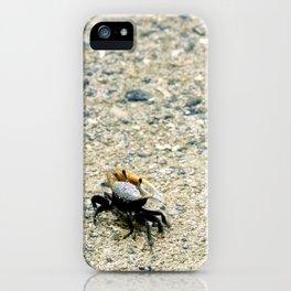 Crab No. 5 iPhone Case