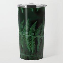 Green leaves of Christmas tree Travel Mug