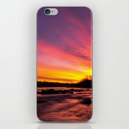 Pony Pasture Sunrise iPhone Skin
