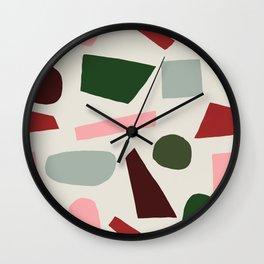 Christmas Cheer Wall Clock