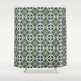 Moroccan Tea Seamless Pattern Shower Curtain