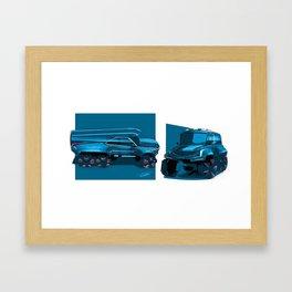 Chevrolet 6x6 vehicle Framed Art Print