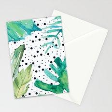 Botanic polka dots Stationery Cards