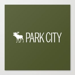 Utah: Park City Moose Canvas Print