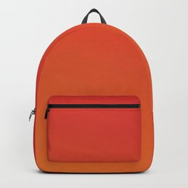 Modern abstract neon red orange gradient Backpack