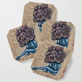 Flower for brains Coaster