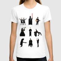 men T-shirts featuring Men in Black by Eric Fan