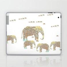 Follow That Elephant Laptop & iPad Skin