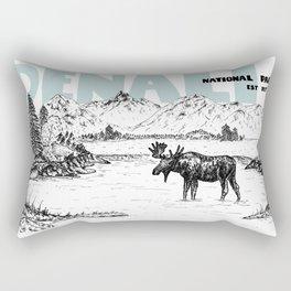 DENALI NATIONAL PARK Rectangular Pillow