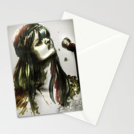 Bat for lashes Stationery Cards