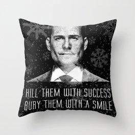 Harvey Specter Throw Pillow
