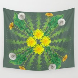 Dandelion Cycle Wall Tapestry