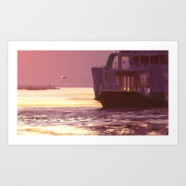 memories of gone summer [Loss of the departure] Art Print