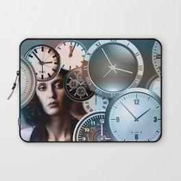 Time Clock Laptop Sleeve