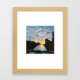 Liberty Bridge Framed Art Print