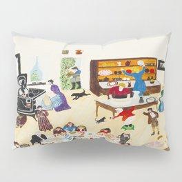Anna Mary Robertson 'Grandma' Moses Thanksgiving American Folk Art Pillow Sham