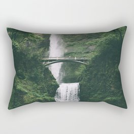 Multnomah Falls III Rectangular Pillow