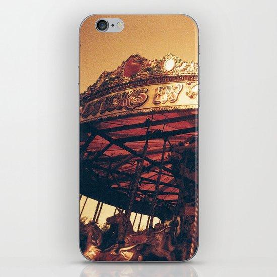 Redscale Carousel iPhone & iPod Skin
