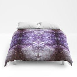 Reflected Amethyst Comforters