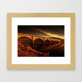 Ashopton Sunrise Framed Art Print