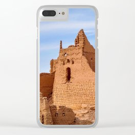 Ruins of Turaif Palace Clear iPhone Case