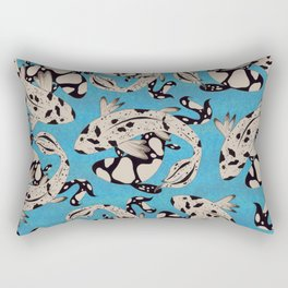 Speckled Koi Rectangular Pillow
