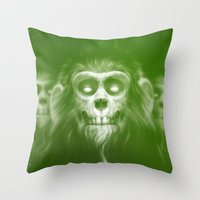 lotr Throw Pillows featuring Those Who Are Dead by Dr. Lukas Brezak