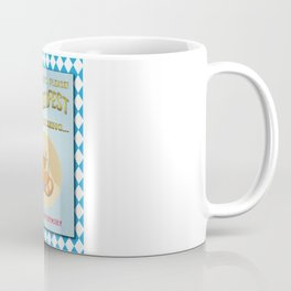 Poster of 'Waiting for the Oktoberfest' Coffee Mug