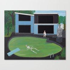 Green Pool Canvas Print