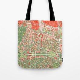 New Delhi map classic Tote Bag