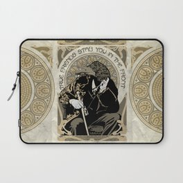 True Friends Stab You In The Front Laptop Sleeve