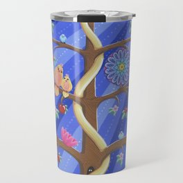 Mandala Tree Travel Mug