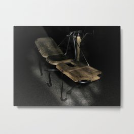 School for the Feeble Minded Metal Print