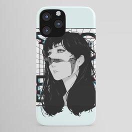 Cyberpunk Vaporwave Aesthetic Style iPhone Case