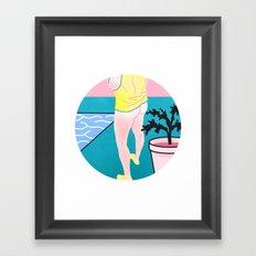 Butt series #3 Framed Art Print