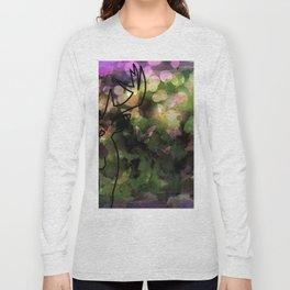 Buck & Butterflies mingle Long Sleeve T-shirt