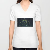 firefly V-neck T-shirts featuring firefly by Studio Ria