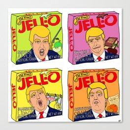 Trump Jell-O Art Canvas Print