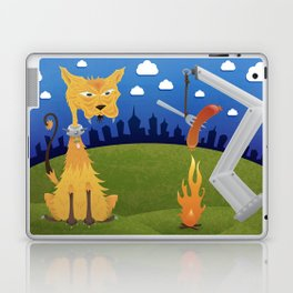 Tatos the Winnie Eating Alley Cat. Laptop & iPad Skin