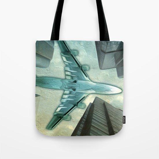 Flight path Tote Bag