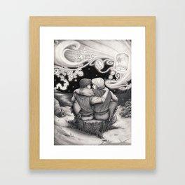 Who Needs a Princess? Framed Art Print
