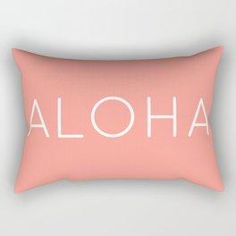 ALOHA (CORAL) Rectangular Pillow