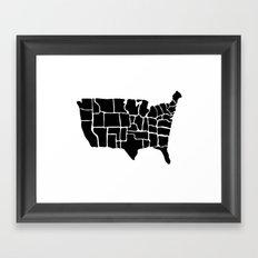 America from Memory Framed Art Print