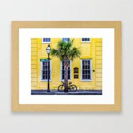 Historic King Street, Charleston, South Carolina Framed Art Print