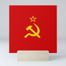Flag of USSR Mini Art Print