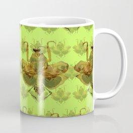 Giant Dead Leaf Mantis (Deroplatys desiccata) pattern Coffee Mug