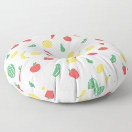 Fruits & Veggies Floor Pillow